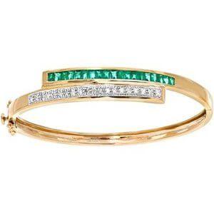 pulsera de oro de lujo para hombres y mujeres